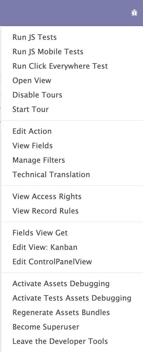 Odoo 14开发者指南第七章 调试模块