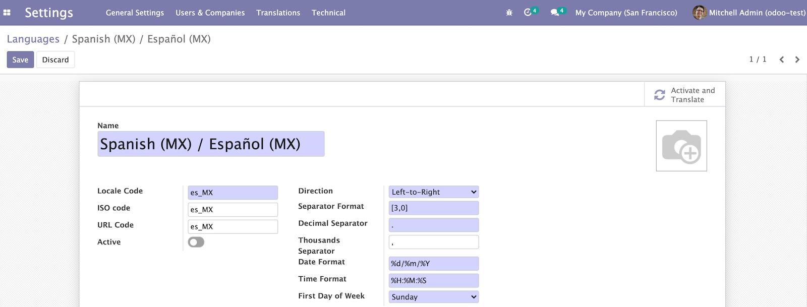 Odoo 14开发者指南第十一章 国际化