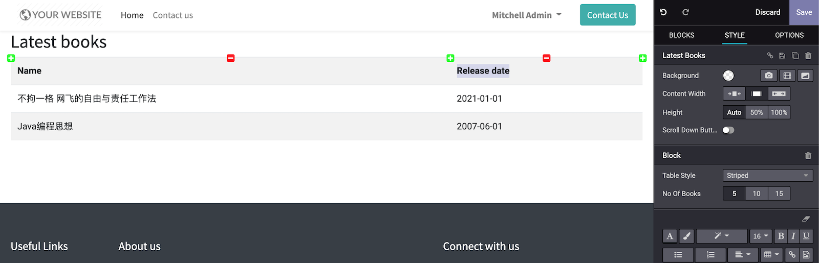 Odoo 14开发者指南第十四章 CMS网站开发
