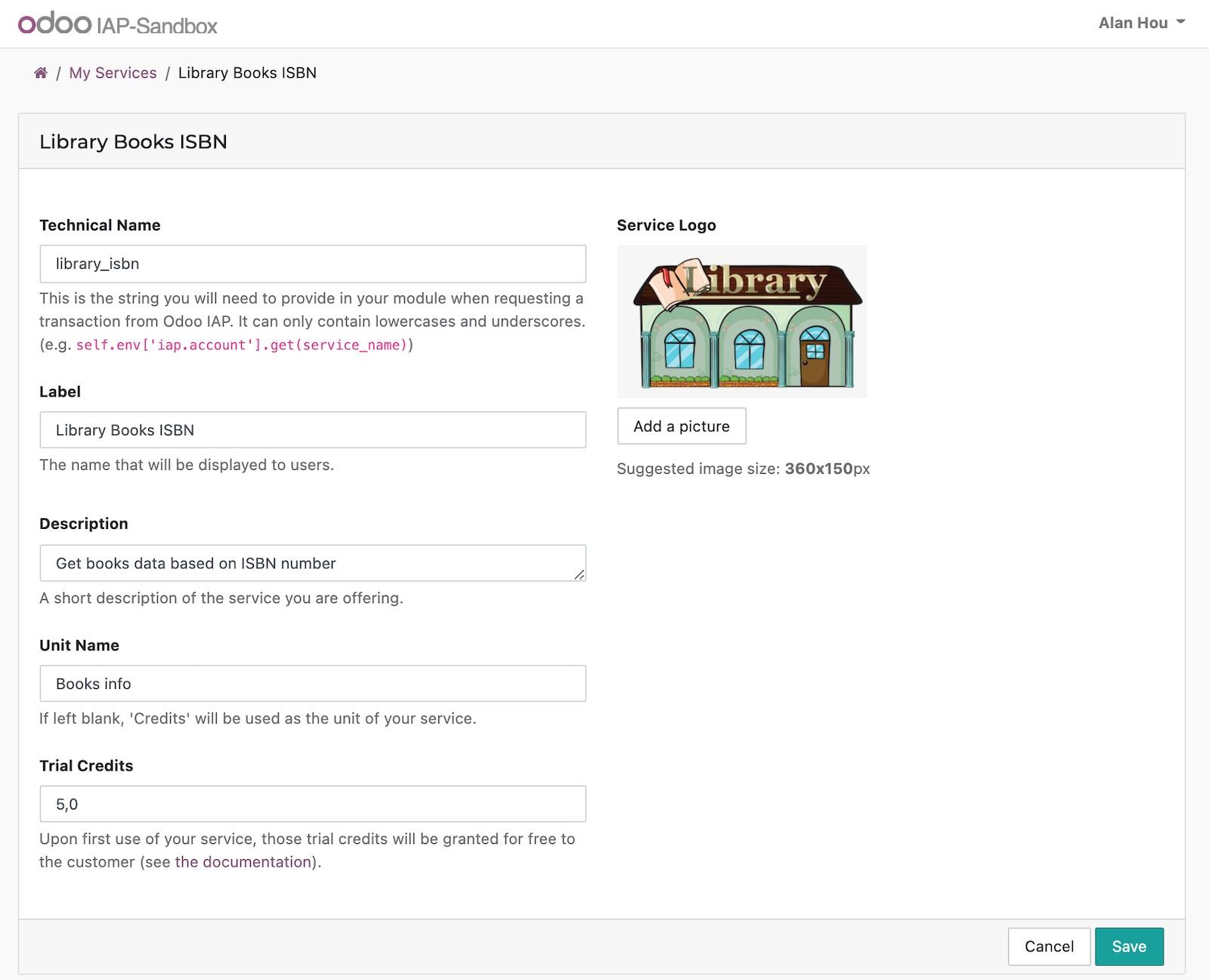 【翻译中】Odoo 14开发者指南第十七章 Odoo的应用内购买